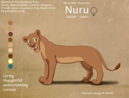 Nuru Ref Sheet by Nala15