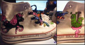 Mindless Self Indulgence shoes by Urdeil