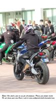 bikes gathering (11) by Mithgariel-stock