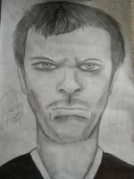 Dr. House from the show House by thelilartist