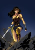 Wonder Woman- Dawn of Justice by RJDJ-Productions