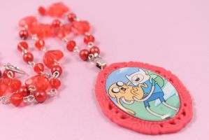 Adventure Time Necklace by PeppermintPuff