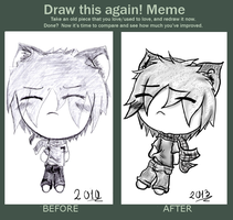 MEME: Draw This Again! by AgiiChan