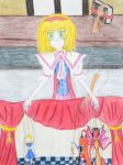 Alice's Marionette Show by Rougealienpirate