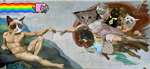 The creation of Tard the Grumpy Cat by FrigeEnterprises