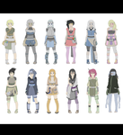 12 Naruto Adopts 250 points -CLOSED- by zombie-adoptables