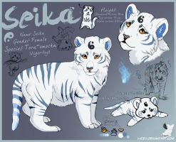 Seika__Character-sheet by LewKat