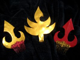 Fire Nation Royal Headwear by iambrose777