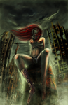 The Apocalyptic Stripper by VortexQueen