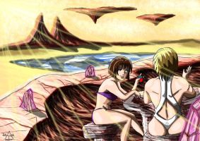Powergirl : Quantum Quest (23) Hotspings Vacation by adamantis