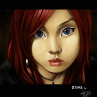 D. Painted Stare by cortezmaronie