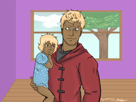 Klaus and baby natalie by ShinjiRyuu