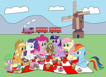 Having A Picnic by equestriaguy637