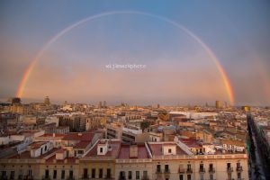 Somewhere under the taky rainbow by DRIVINGYOU