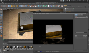 Ubuntu and c4d by ShippD