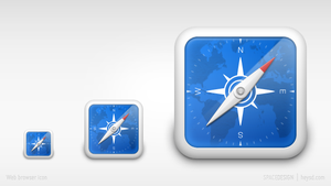 iPhone replacement icon-safari by hehedavid