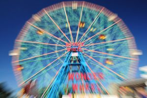 Deno's wonder wheel by kingbenji