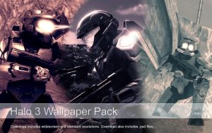 Another Halo 3 Wallpaper Pack by Pokehkins