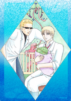 Scientists and Babies by Kazuny