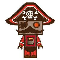 Pirate robots by gtmade