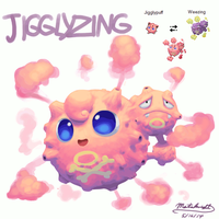 Pokemon Fusion - Jigglyzing by Mataknight