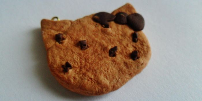 Hello Kitty Cookie Clay Charm by HelloHeidi