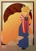 Kitsune by Tee-chew
