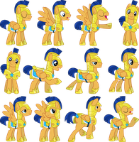 Flash Sentry Vectors Set 1 by Jeatz-Axl
