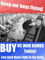 BUY US WAR BONDS by SorinCrecens