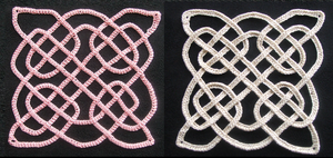 Celtic knot Four-square by White-Hand