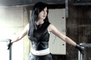 Tifa Lockhart: Under Midgar by LittleBlondeGoth