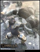 Gorilla Supremacy by Pret-A-3D