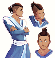 Older Sokka by hisonae