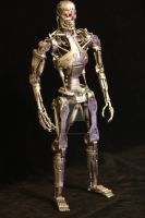 T- 800 Endoskeleton by DavidDoylearts