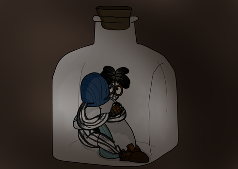 6 and 4 In A Bottle by QueenStorm