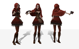 AliceRedRidinghood 1 by tombraider4ever