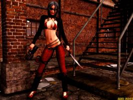 Red and Black Death Trap by stevey3d
