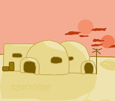 Tatooine by captaincalico