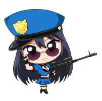 Chibi Officer Caitlyn by krnozine