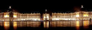 Bordeaux, Place de la Bourse by tzygane