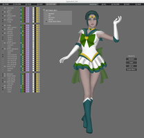 SailorXv3 - Sneak Peek 45 - Super Sailor Moon by SailorXv3