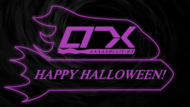 Allie-RX Space Halloween Logo by AllieRX