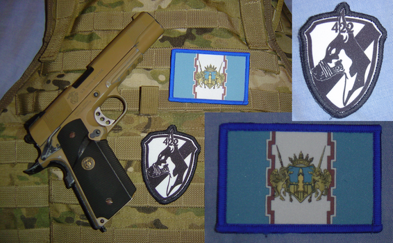 Gallian Military Patches by Vielwerth