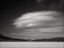 Clouds over Sierra Nevada by aponom