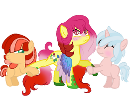Um can't you please fight over someone else? by Sarahostervig