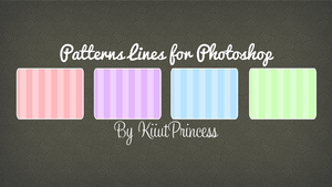 Patterns Lines by KiiutPrincess