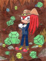Knuckles The Last Guardian by Espio-Chameleon