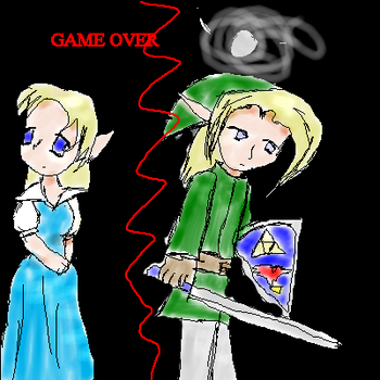 Game Over Link by dq5991