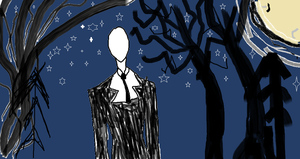 Starlight : Slender man by prussianwolf13