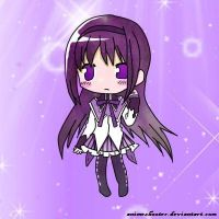 Homura Akemi Colored by Animeshooter